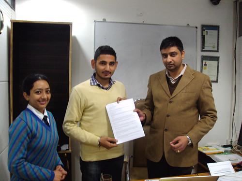 Director handling AUS Student visa to Manpreet Singh Othi