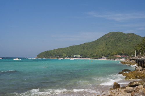 Beach in Lan Island