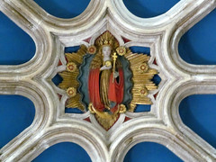 Warwick - Collegiate Church of St Mary (pefkosmad) Tags: uk england church monument memorial worship religion chapel ceiling vault stmary warwick warwickshire collegiate hallowedground churchofengland ladychapel collegiatechurchofstmary beauchampchapel