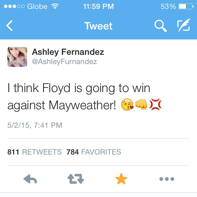Well, I think Manny will going ton win against Pacquiao 😜👊💢 #GoManny #AllforPACMAN #TeamPacquiao #TheMannyTeam