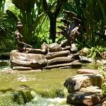 Bronze sculpture in Muang Boran (Ancient Siam) in Samut Prakan, Thailand thumbnail