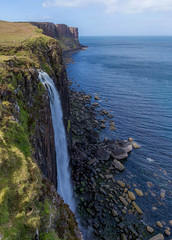 Kilt Rock Waterfall, Skye, Scotland (John Strung) Tags: skye scotland waterfall unitedkingdom kiltrockwaterfall