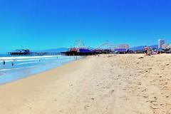 From Venice Beach to Santa Monica Pier (Joe Lach) Tags: ocean california beach water pier sand santamonica pacificocean venicebeach rides santamonicapier waterpictorial joelach