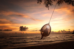 Beach swing (Patrick Foto ;)) Tags: ocean family sunset sea summer vacation sky people woman holiday playing beach nature water girl beautiful smile silhouette female sunrise fun thailand happy togetherness coast seaside kid nice sand toddler infant child adult little outdoor joy daughter young seesaw lifestyle happiness swing parent together ko tropical teenager coastline koh lipe teenage andamansea trat kokut