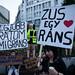 Migráns tüntetés