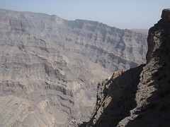 The grand canyon of Oman, called Wadi Nakhur!