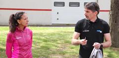 Rencontre avec Fatiha SERBOUTI - 2016 (La Joliverie) Tags: sport running run triathlon nantes jol fatiha saintsbastiensurloire fathia joliverie serbouti triajol fatihaserbouti