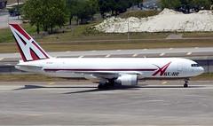 ABX Air - N750AX - B767-232SF (Charlie Carroll) Tags: tampa florida tampainternationalairport ktpa