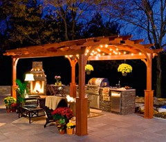 Pergola Decor Ideas (Recycled-Things) Tags: pergola pergoladecorations pergoladesigns pergoladecorideas pergolagardendecor pergoladecor pergolahomedecor
