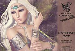 Wicca's Wardrobe - Cathbad Set (Wicca Merlin / Wicca's Wardrobe) Tags: wood forest princess jewelry tribal elf fantasy tsa druid ethnic which myth enchanted secretaffair jewelleryset thesecretaffair originalmesh wiccamerlin meshjewelry wiccaswardrobe cathbadset