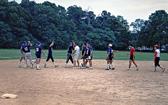 Hutley's August 1988. Town of Islip Men's Softball Champions! (BruceLorenz) Tags: street new york ny st by bar ed island one town championship team pub long main tavern 1984 mens playoffs softball eighties now 1980s murray roofing maxwells 501 islip lessings hutleys hutleys501 stislipny