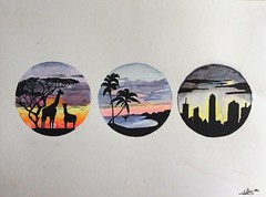 (celiamartnjuan) Tags: art watercolor arte acuarela dibujo lpiz