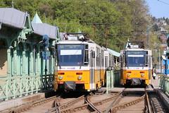 2015-04-19, Budapest, Hvsvlgy (Fototak) Tags: hungary budapest tram strassenbahn tatra 4033 bkv 4026 ligne61