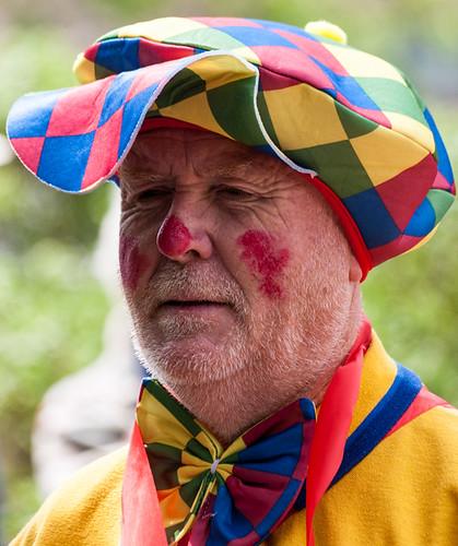Clowns international parade and picnic