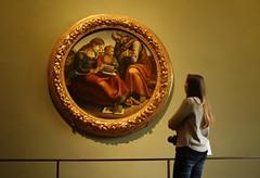 Contemplazione (Stefano Biancardi) Tags: italy art italia arte quadro uffizi galleria contemplazione