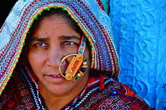 India-rann of Kutch (Explore) (venturidonatella) Tags: portrait woman india colors look women asia faces emotion ring explore sguardo colori ritratto volti emozioni d300 kutch rannofkutch nikond300