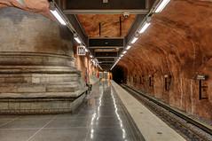 Konst i Stockholms t-bana (Ana >>> f o t o g r a f  a s) Tags: underground subway europa europe metro sweden stockholm schweden sverige scandinavia sthlm hdr estocolmo stoccolma suecia rdhuset tunnelbana fused tbana tunnelbanan photomatix escandinavia hdrworldsweden