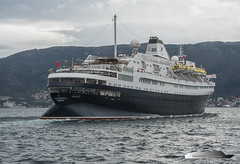 Astoria (Aviation & Maritime) Tags: astoria cruisemaritimevoyages cmv cruiseship cruise bergen norway