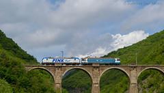 At Bunovo bridge (Radler.z) Tags: bridge bobo siemens cargo railways tests 192 bulgarian 962 pimk bdz vectron 46124 bunovo le5100