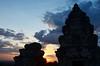 AK_PhnomBakheng_20 (chiang_benjamin) Tags: sunset sky tower clouds temple cambodia angkorwat phnombakheng