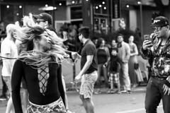 Grooving (micadew) Tags: street urban blackandwhite bw monochrome hair blackwhite longhair streetshots streetphotography streetscene flip bnw streetwear urbanlife urbanscene urbanwear urbanshots