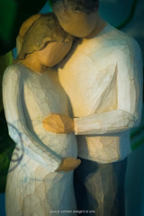 Love, Life (Sam & Sophie Images) Tags: life leica baby love home statue couple sony husband spouse pregnant r wife figurine brace f4 statuette 100m macroelmar a7r
