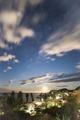 Day to Night (Timothy M Roberts) Tags: nikon australia luna moonrise astrophotography nsw avoca daytonight