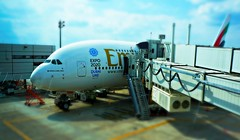 The Beginning (pam's pics-) Tags: plane airport houston emirates transportation a380 airbus380 georgebushintercontinentalairport pammorris pamspics sonya6000