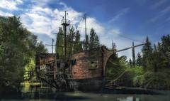 Black Pearl (Sckchen) Tags: abandoned ship urbanexploration schiff verlassen urbex marode lostplaces dassoeckchen