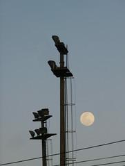 La luna por la tarde (Andreslozadah) Tags: blue sky moon nikon luna coolpix p500 carora