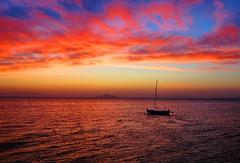 Puesta del sol sobre el mar (eitb.eus) Tags: jose lamanga 16599 mariavega eitbcom tiemponaturaleza tiempon2016 g113997