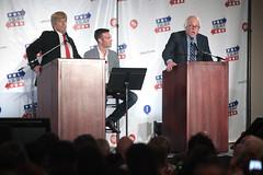 Anthony Atamanuik, Jon Favreau & James Adomian (Gage Skidmore) Tags: california james jon center donald convention anthony bernie pasadena trump sanders 2016 favreau adomian atamanuik politicon