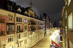 Night time at Stockerstrasse (A. Wee) Tags: night switzerland europe zurich sheraton    neuesschloss  stockerstrasse