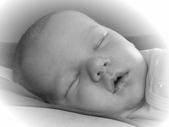 Sleeping angel (Scott Sz) Tags: baby face portrait sleeping sweet tiny infant nap innocent
