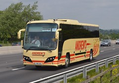 YN11 AXX: Andrew, Tideswell (chucklebuster) Tags: yx11axx andrews volvo b9r plaxton panther