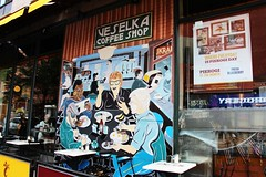 East 9th Street (ShellyS) Tags: nyc newyorkcity manhattan buildings wallart murals eastvillage