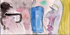 wren wir uns nie begegnet, was httest Du getan, all die Zeit, ein ganzes langes Leben (raumoberbayern) Tags: city winter bus fall pencil paper munich mnchen landscape herbst tram sketchbook stadt papier landschaft bleistift robbbilder skizzenbuch strasenbahn