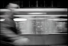 night by train - berlin III (look-book) Tags: blackandwhite bw white black berlin blancoynegro film analog 35mm blackwhite foto noiretblanc trix d76 fotos sw konica analogue bahn hexar lookbook selfdeveloped f20 analogous analogicas anlogo