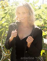 katilynn_blackdress_web-6 (enterlinemedia) Tags: blackdress littleblackdress blond woman womaninblackdress female smile jacket blackjacket outside location sunlight sunny