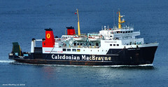 Scotland Greenock large car ferry Hebridean Isles coming into the ship repair dock 25 July 2016 by Anne MacKay (Anne MacKay images of interest & wonder) Tags: scotland greenock caledonian macbrayne car ferry hebridean isles xs1 25 july 2016 picture by anne mackay