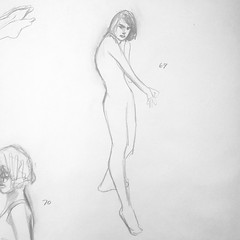 Pose #69 of 100. #gesturedrawings #artstudent #illustration #humanfigure #sketches #sketchbook #pencil #study (shannonhakala) Tags: pose 69 100 gesturedrawings artstudent illustration humanfigure sketches sketchbook pencil study