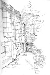 City wall and multangular tower, York