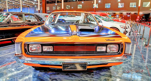 1971 265ci Six Cylinder Valiant Charger R/T E49,  Gosford Classic Car Museum