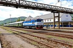 749 259-8 Brezno, Slovakia 21 Jun 16 (doughnut14) Tags: diesel rail loco slovensko slovakia railtour grumpy notforprofit nfp brezno ckd class749 bardotka zeleznicne 7492598