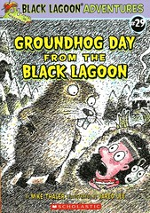 Groundhog Day from the Black Lagoon (Vernon Barford School Library) Tags: new school fiction reading book high library libraries reads books super read paperback groundhog cover junior novel covers bookcover 29 pick middle vernon quick recent picks qr bookcovers 29th paperbacks anchorman groundhogday novels fictional groundhogs barford twentynine softcover blacklagoon twentyninth mikethaler anchorperson quickreads jaredlee quickread anchormen vernonbarford softcovers superquickpicks superquickpick 9780545785204 blacklagoonadventures anchorpeople
