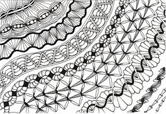 6 (Julia Faranchuk) Tags: zentangle