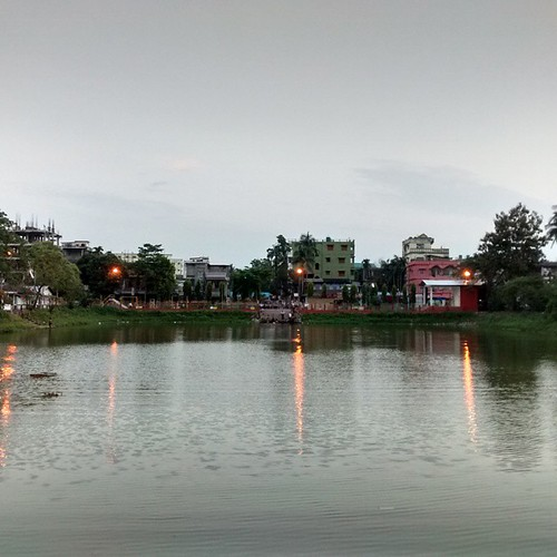 Rajmata Dighi - The water body in front of the Rajmata Mandir