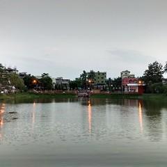 Rajmata Dighi - The water body in front of the Rajmata Mandir