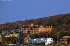 Navy Helicopter (Zak355) Tags: scotland helicopter royalnavy rothesay isleofbute glenburnhotel