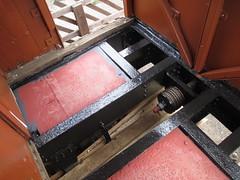 Repainted underframe under south veranda of brake van 19Apr15